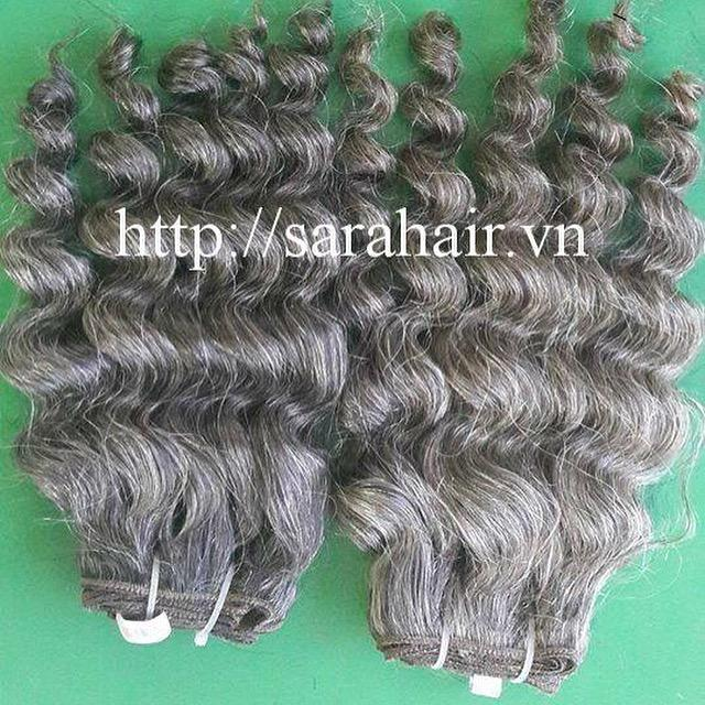 Cambodian machine weft curly hair