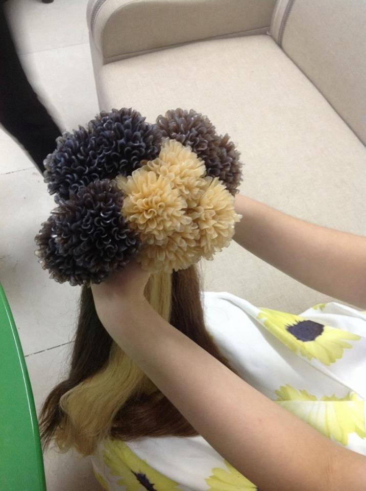 Cambodian pre-bonded Flat tip hair extension