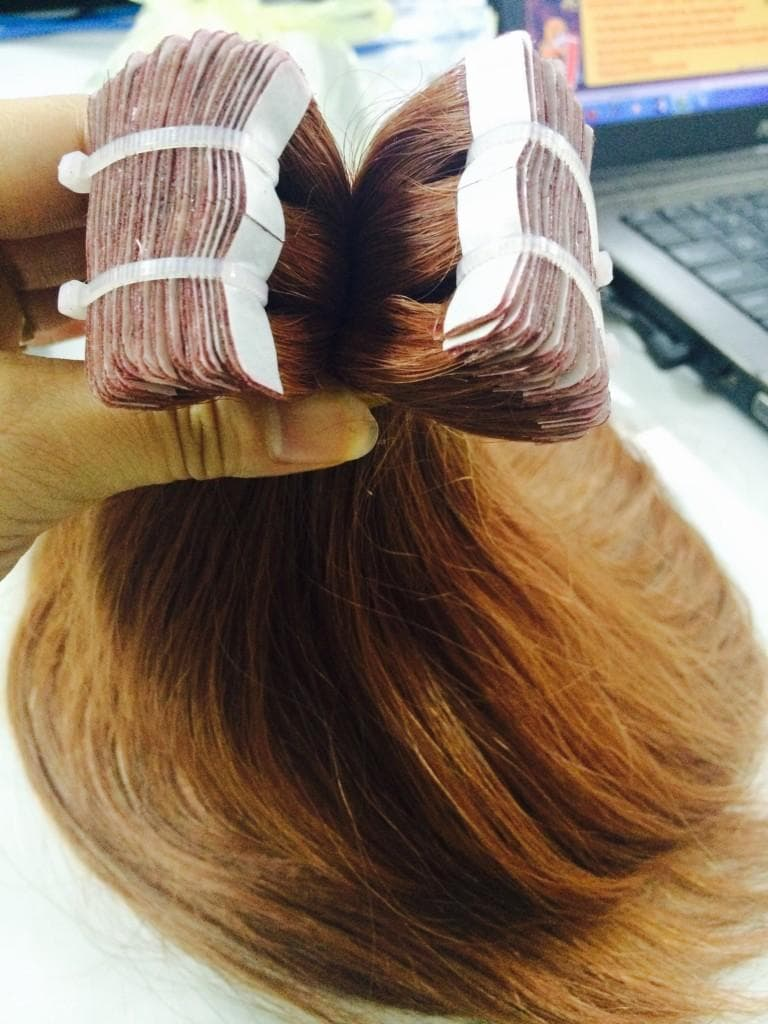 Cambodian tape hair straight in color #4
