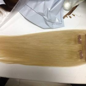 Clip-in hair extensions color #22 18''