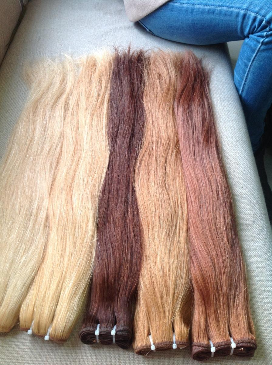 Double Drawn Machine Weft Straight Hair Color 6061381627