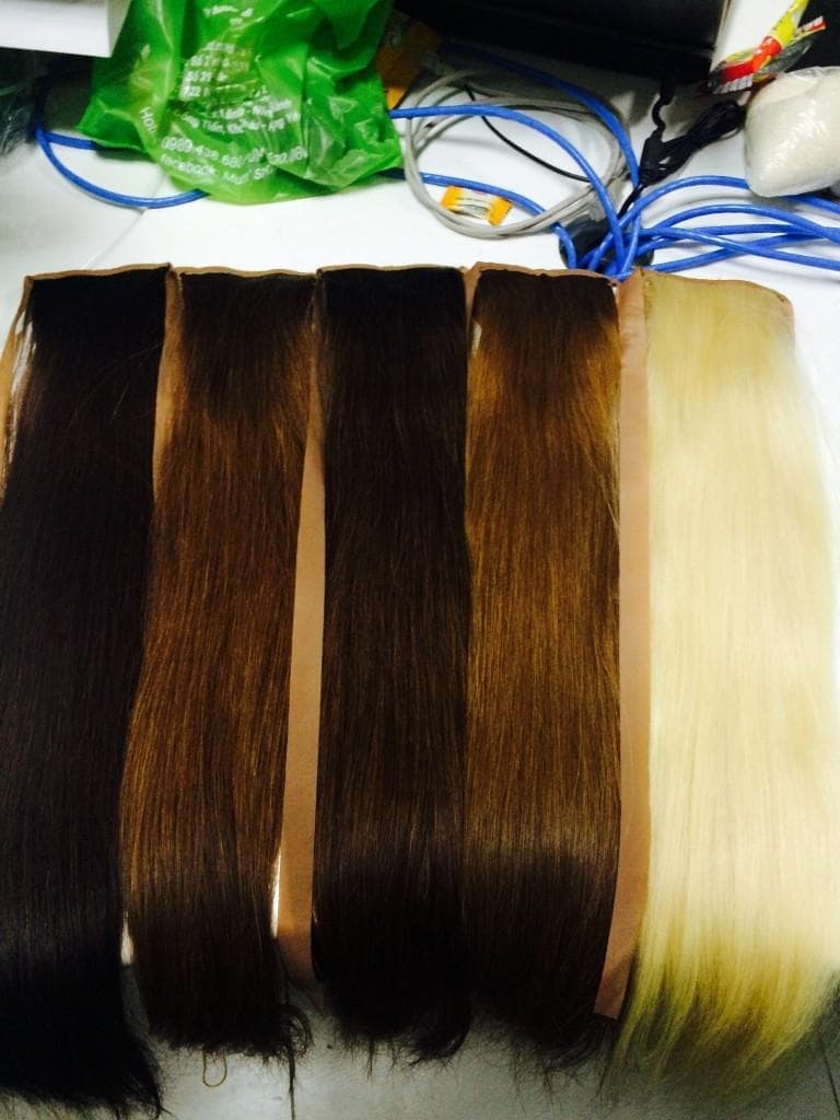 Ponytails hair extension any colored