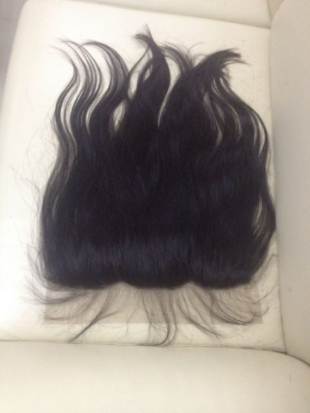 Frontal natural hair 1