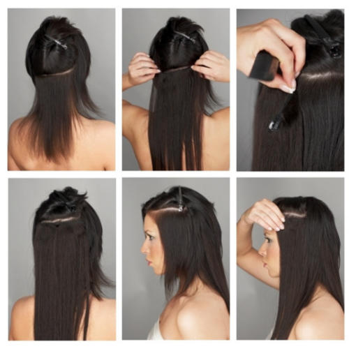 Really Thick Hair Extensions 1