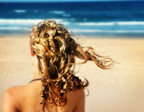 Steps to get great beach hair 2
