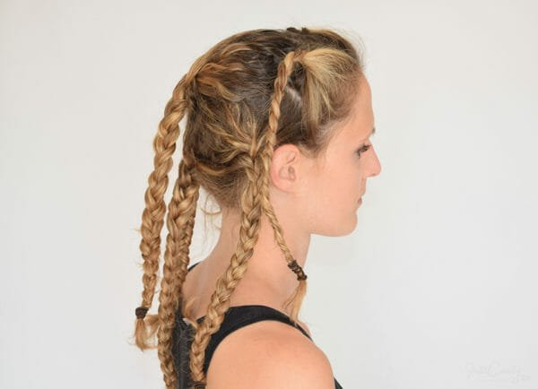 Steps to get great beach hair 3