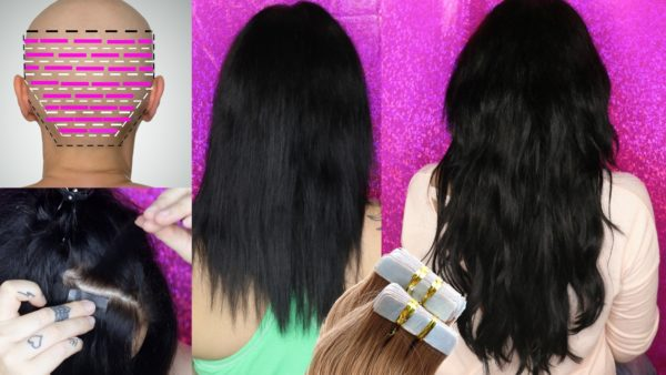 Applying for hair extensions now or never 1