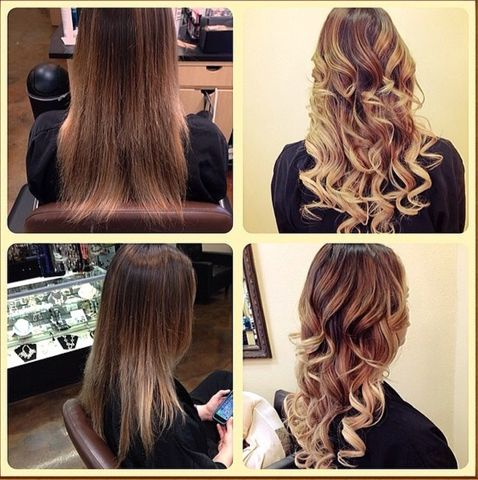 Tape-In Hair Extensions 1