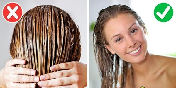 YOUR HAIR CONDITIONER THE RIGHT WAY 3