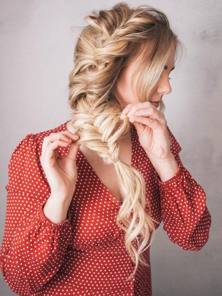 Braid hairstyles with ultra-volume 6