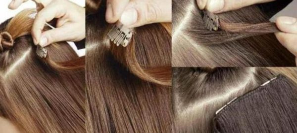 How to Apply your Clip-In Hair 1