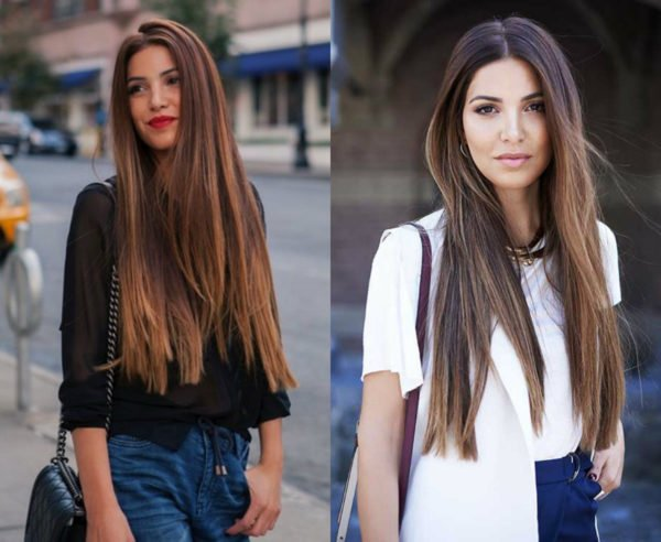 How to style long hair faster 1