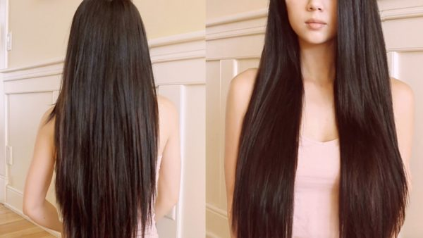 How to style long hair faster 4