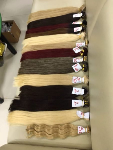 Dye your hair extension 2
