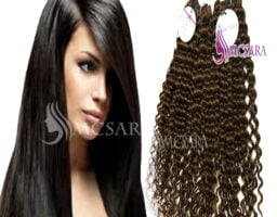 Machine weft hair extensions 1
