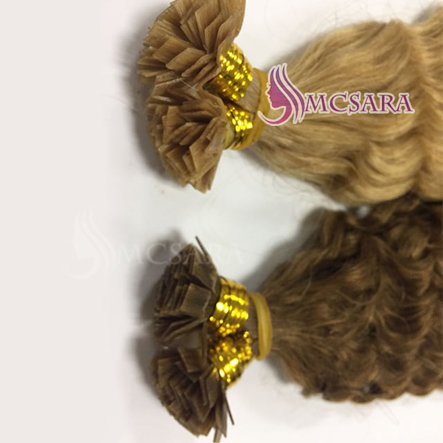 flat tip blonde and brown color (1)