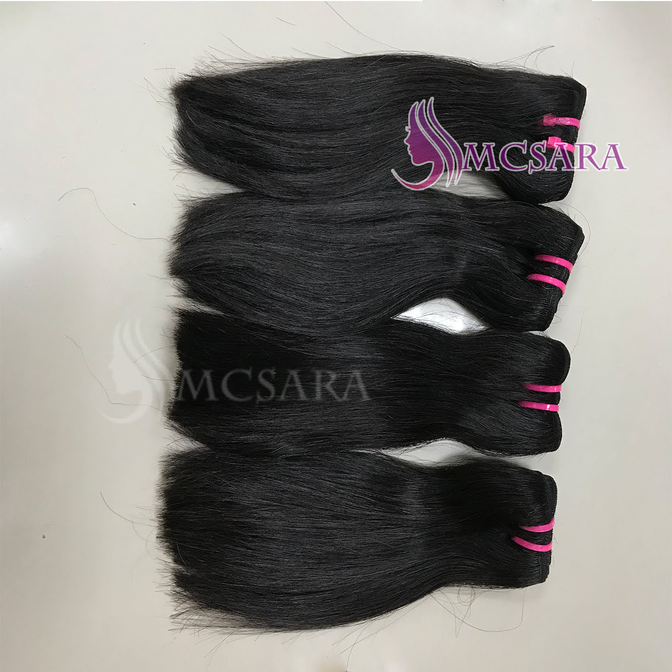 12 Inch Weave Straight Hair Extensions Black Color