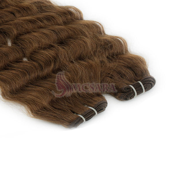 10 Inches Weave Hair Extensions Dark Brown