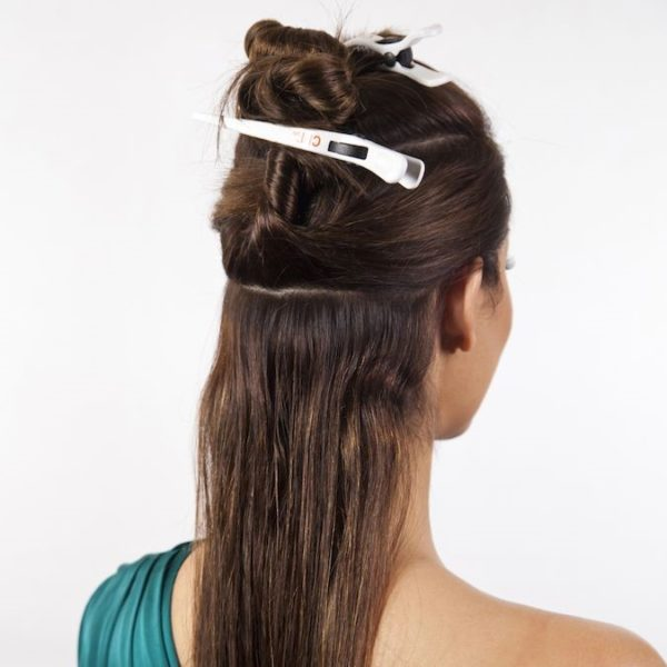 How to attache clip in hair extensions 1