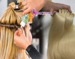 TIPS TO CARE FOR TAPE IN HAIR EXTENSIONS 1