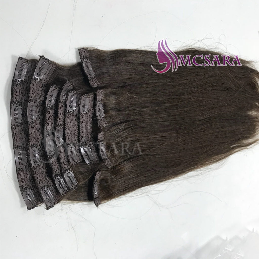 clip in hair brown color (1)