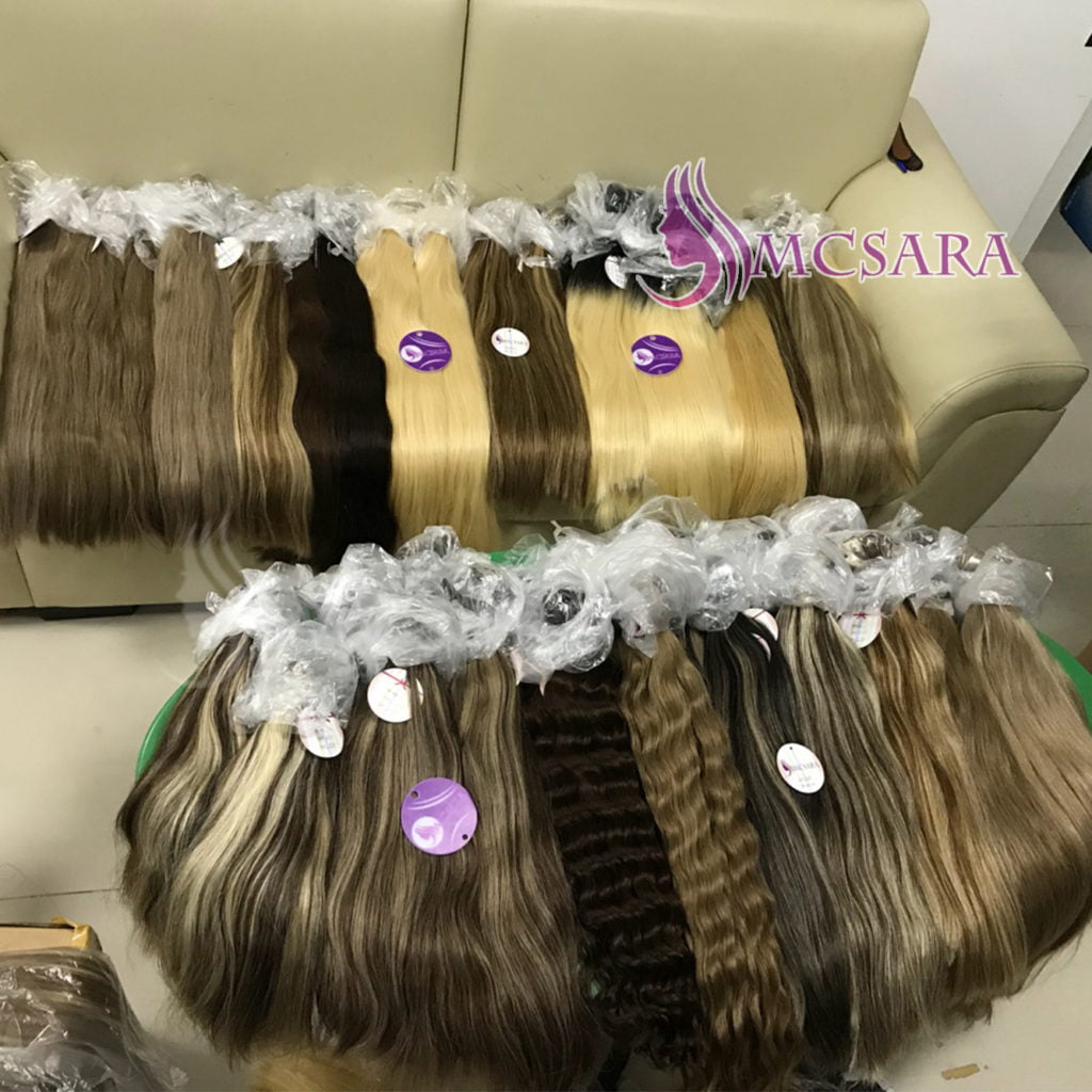 human hair extensions various color