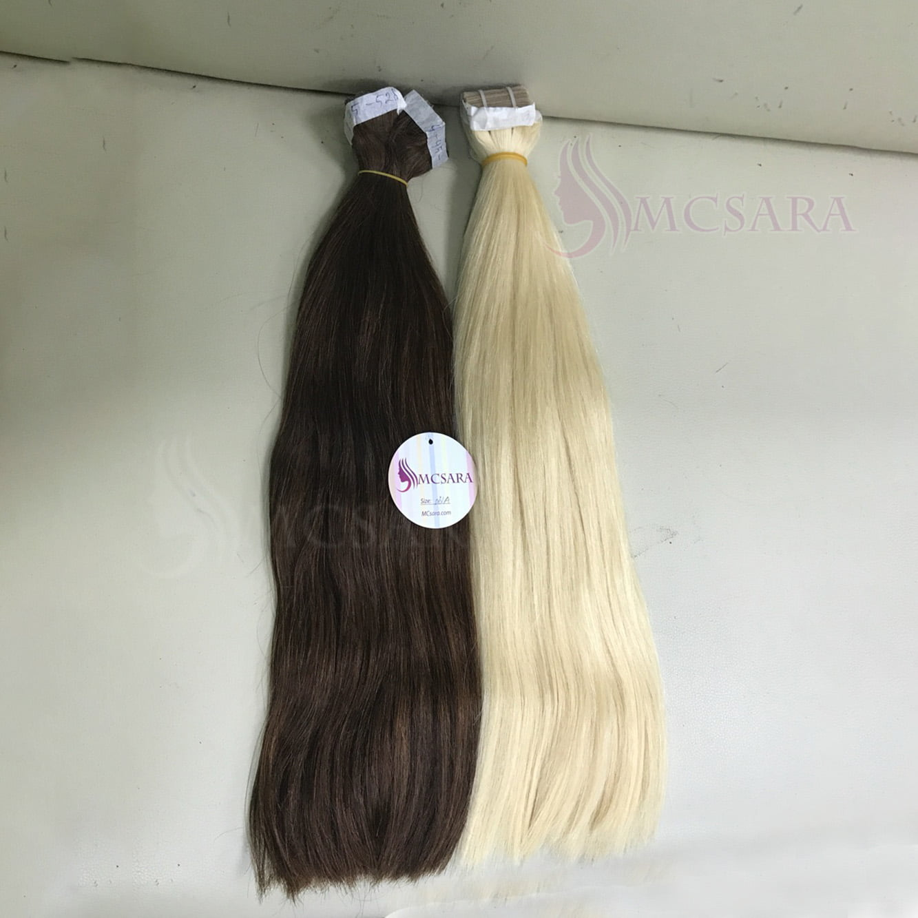 26 And 28 Inches Tape In Hair Extensions