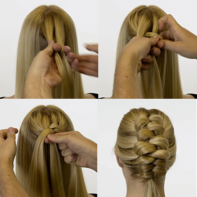Step By Step To Have A Cute Affable Butterfly Braid Hairstyle